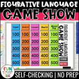 Figurative Language Game Show | Test Prep Reading Review Activity | Digital Game
