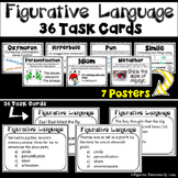 Figurative Language Poster and Task Cards