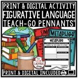 Figurative Language Activities & Figurative Language Posters Teach- Go Pennants™
