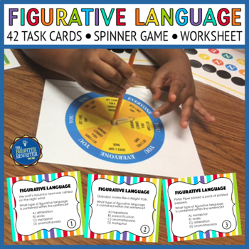 Figurative Language Task Cards and Game