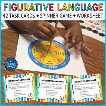 Figurative Language Task Cards