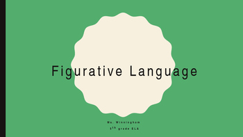 Figurative Language: Computer DI Station