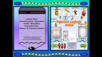 Figurative Language Lessons and Interactive Practice BUNDLE!