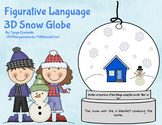 Figurative Language 3D Snow Globe Mobile