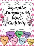 Figurative Language 3d Heart Craftivity