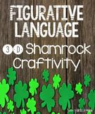 Figurative Language Shamrock Craftivity