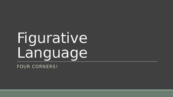 Figurative Language 4 Corners