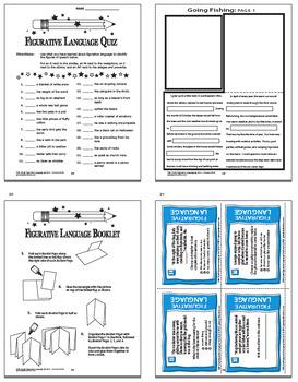 Figurative Language Lesson (Similes, Metaphors, Idioms, Proverbs, Adages)