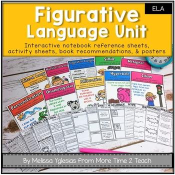 Figurative Language: A Complete Unit for Grades 2-4