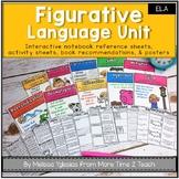 Figurative Language Unit: Activities | Assessments | Posters {Similes, Metaphor,