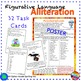 Figurative Language ALLITERATION UNIT Anchor Chart and Task Cards