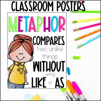 Figurative Language: Posters, Activities, Flip Book, Anchor Charts