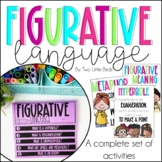 Figurative Language: Posters, Activities, Flip Book, Ancho