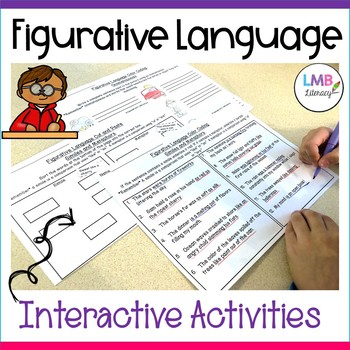 Figurative Language Activities-Color Coding and Cut & Paste