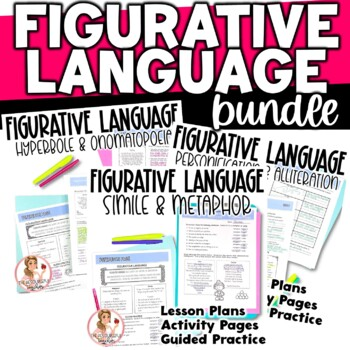 Figurative Language in Poetry Activities and Lesson Plans BUNDLE