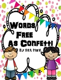 "Figurative Language Activities for ""Words Free as Confetti"" by Pat Mora"