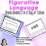 Figurative Language Activities Book Companion Amelia Bedel