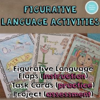 Figurative Language Activities - upper elementary