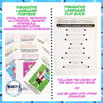 Figurative Language Activities, Posters & Assessment 3rd, 4th grade, 5th grade