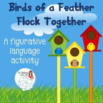 Figurative Language Activity: Birds of a Feather