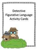 Figurative Language Activity Cards
