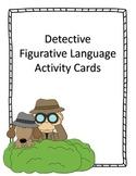 Figurative Language Activity Cards