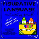 Figurative Language Activity Pack #1 Idioms & Homonyms