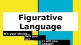 Figurative Language Activity - Sit/Stand Activity