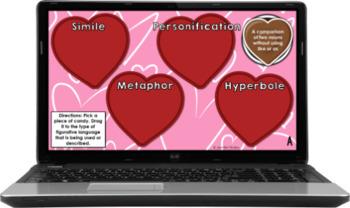 Figurative Language Activity {Valentine's Day Themed}