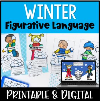 Figurative Language Activity {Winter Themed}