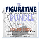 4th & 5th grade Figurative Language Activity BUNDLE