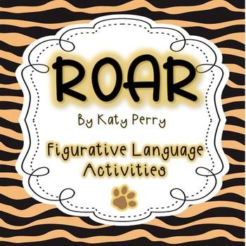 """""""Roar"""" Figurative Language"""