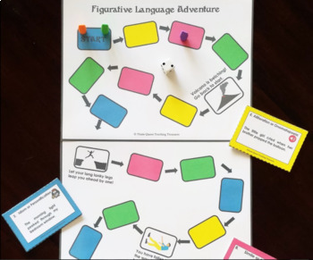 Figurative Language Adventure Game/CCSS Aligned 3-6