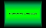 Figurative Language: Alive in Literature (Interactive Power Point)