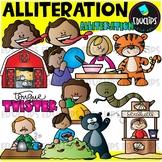 Figurative Language - Alliteration Clip Art Set {Educlips Clipart}