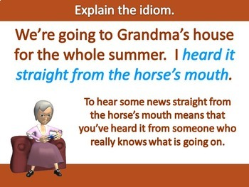 Proverbs, Adages, and Idioms Lesson (L.4.5b and L.5.5b) {Figurative Language}