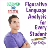 Figurative Language Analysis Mini Unit {Secondary}