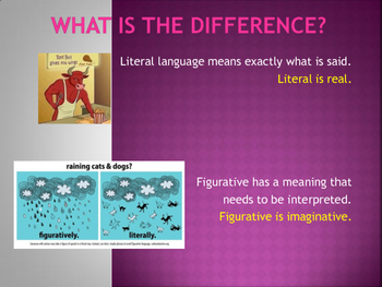 Figurative Language Analysis with Author's Purpose Review