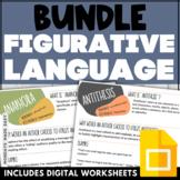 Figurative Language Anchor Chart BUNDLE Literary Device Wo