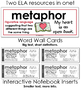 ELA Word Wall Cards for Figurative Language