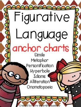 Figurative Language Anchor Charts