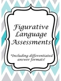 Figurative Language Stories; Differentiated Answer Formats