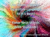 Figurative Language At Its Best! Idiom Mini-Posters