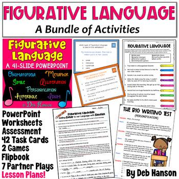 Figurative Language: A Bundle of Activities