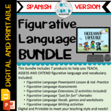 Figurative Language: BUNDLE Digital and Printable LENGUAJE