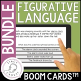 Figurative Language BUNDLE Hyperboles Metaphors Similes Id