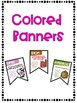 Figurative Language Banners with a Farm Theme ~Color and Black & White~