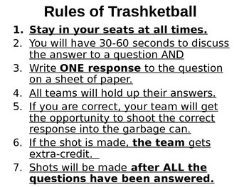 Figurative Language Basketball Game PowerPoint