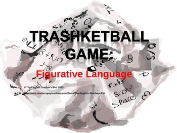 figurative language basketball game powerpoint by the