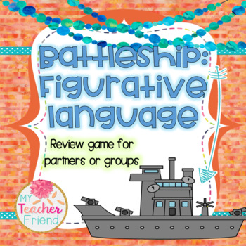 Figurative Language Battleship Game